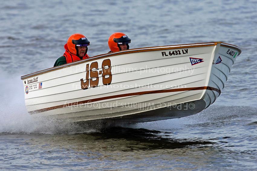 """JS-8 """"Jersey Girl"""" (Jersey Speed Skiff)"""