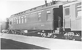 Business car B-7.  Originally baggage car #17 and then business car R.<br /> D&amp;RGW