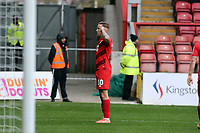 O's Jordan Maguire-Drew celebrates after scoring the opener during Leyton Orient vs Cambridge United, Sky Bet EFL League 2 Football at The Breyer Group Stadium on 7th March 2020