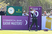 Thongchai Jaidee (THA) in action during the second round of the Commercial Bank Qatar Masters, Doha Golf Club, Doha, Qatar. 08/03/2019<br /> Picture: Golffile | Phil Inglis<br /> <br /> <br /> All photo usage must carry mandatory copyright credit (&copy; Golffile | Phil Inglis)
