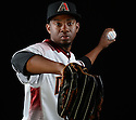 Arizona Diamondbacks Wesley Wright (57) during photo day on February 28, 2016 in Scottsdale, AZ.