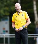 AMSTELVEEN - Scheidsrechter Jorrit Maakal .Hoofdklasse competitie dames, Hurley-HDM (2-0) . FOTO KOEN SUYK
