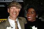 Kevin Geer & Yolonda Ross attending the Opening Night for the Labyrinth Theater Company's World Premiere of a New Play UNCONDITIONAL at the Public Theatre with an after party at Colors Restaurant in New York City.<br /> February 18, 2008