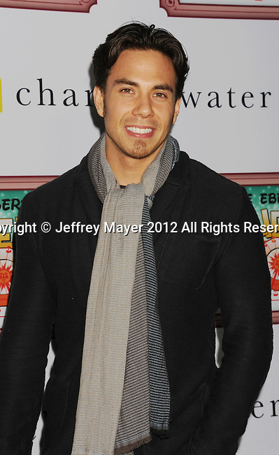 LOS ANGELES, CA - DECEMBER 08: Apolo Ohno attends Charlie Ebersol's 'Charlieland' Birthday Party And Charity: Water Fundraiser on December 8, 2012 in Los Angeles, California.