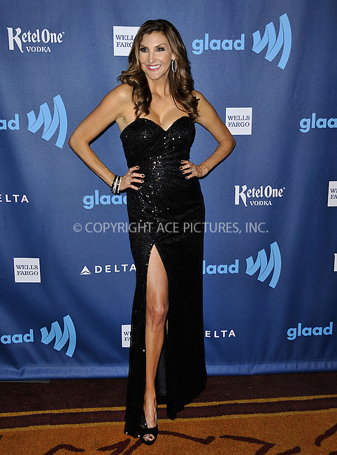 WWW.ACEPIXS.COM......April 20, 2013, Los Angeles, CA.....Heather McDonald arriving at the 24th Annual GLAAD Media Awards held at the JW Marriott Los Angeles at L.A. LIVE on April 20, 2013 in Los Angeles, California. ..........By Line: Peter West/ACE Pictures....ACE Pictures, Inc..Tel: 646 769 0430..Email: info@acepixs.com
