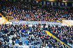 Stockport fans in The Cheadle End. Stockport County v Barnet, 07032020. Edgeley Park, National League. Photo by Paul Thompson.