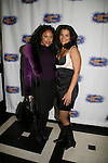 Actress Lynn Whitfield and January LaVoy (OLTL) at the opening night of the play HOME for Signature Theatre Company on December 7, 2008 at the after party at 44 1/2, New York, New York. (Photo by Sue Coflin/Max Photo)