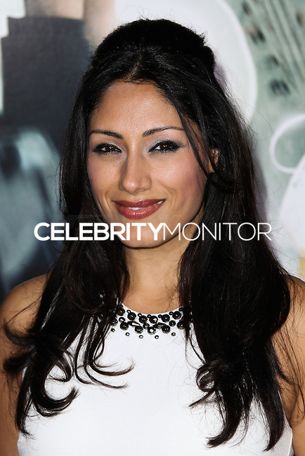 """WESTWOOD, CA, USA - FEBRUARY 24: Tehmina Sunny at the World Premiere Of Universal Pictures And Studiocanal's """"Non-Stop"""" held at Regency Village Theatre on February 24, 2014 in Westwood, Los Angeles, California, United States. (Photo by Xavier Collin/Celebrity Monitor)"""