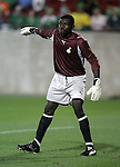 1 March 2006: Ghana goalkeeper George Owu. The National Team of Mexico defeated the National Team of Ghana 1-0 at Pizza Hut Park in Frisco, Texas in an International Friendly soccer match.