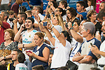Real Madrid's supporters taking photos during XXXVIII Santiago Bernabeu Trophy at Santiago Bernabeu Stadium in Madrid, Spain August 23, 2017. (ALTERPHOTOS/Borja B.Hojas)