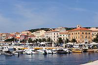 Hafen von La Maddalena, La Maddalena-Archipel (Arcipelago della Maddalena), Provinz Olbia-Tempio, Nord Sardinien, Italien