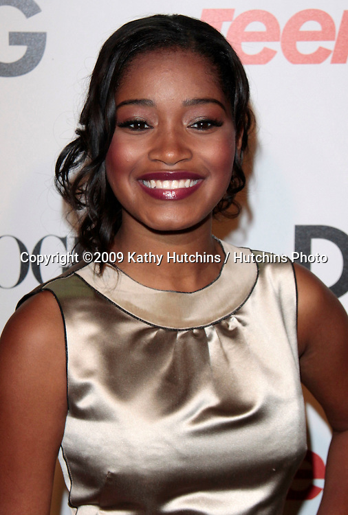 Keke Palmer.The 7th Annual Teen Vogue Young Hollywood Party.Milk Studios.Los Angeles, CA.September 25, 2009.©2009 Hutchins Photo....