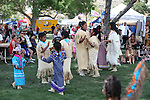 Pow Wow dancers perform at the NV150 Fair at Fuji Park, in Carson City, Nev., on Saturday, Aug. 2, 2014.<br /> Photo by Cathleen Allison