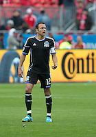 24 March 2012: San Jose Earthquakes midfielder Ramiro Corrales #12 in action during a game between the San Jose Earthquakes and Toronto FC at BMO Field in Toronto..The San Jose Earthquakes won 3-0..