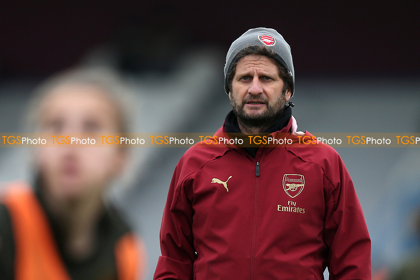 Arsenal manager Joe Montemurro during West Ham United Women vs Arsenal Women, FA Women's Super League Football at Rush Green Stadium on 6th January 2019