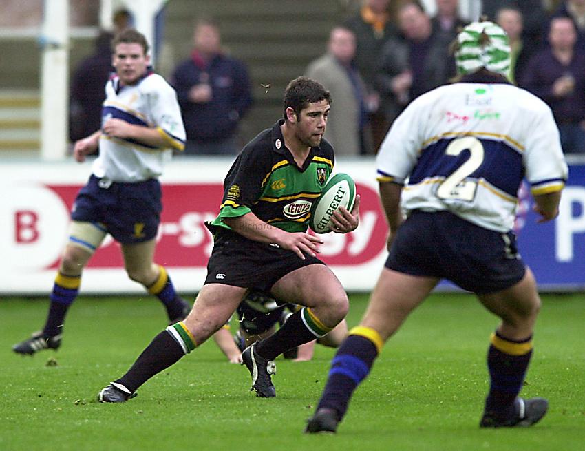 Photo. Richard Lane. .Northampton v Leinster. Heineken Cup. 21/10/2000..Ian Vass.