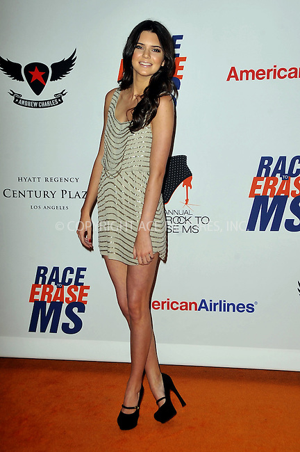 WWW.ACEPIXS.COM . . . . .  ....May 18 2012, LA....Kendall Jenner arriving at the 19th Annual Race To Erase MS, 'Glam Rock To Erase MS' event at the Hyatt Regency Century Plaza on May 18, 2012 in Century City, California. ....Please byline: PETER WEST - ACE PICTURES.... *** ***..Ace Pictures, Inc:  ..Philip Vaughan (212) 243-8787 or (646) 769 0430..e-mail: info@acepixs.com..web: http://www.acepixs.com