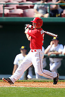 Sean O'Hare #3 of the St. John's Red Storm during the Big East-Big Ten Challenge vs. the Michigan Wolverines at Al Lang Field in St. Petersburg, Florida;  February 19, 2011.  St. John's defeated Michigan 13-6.  Photo By Mike Janes/Four Seam Images