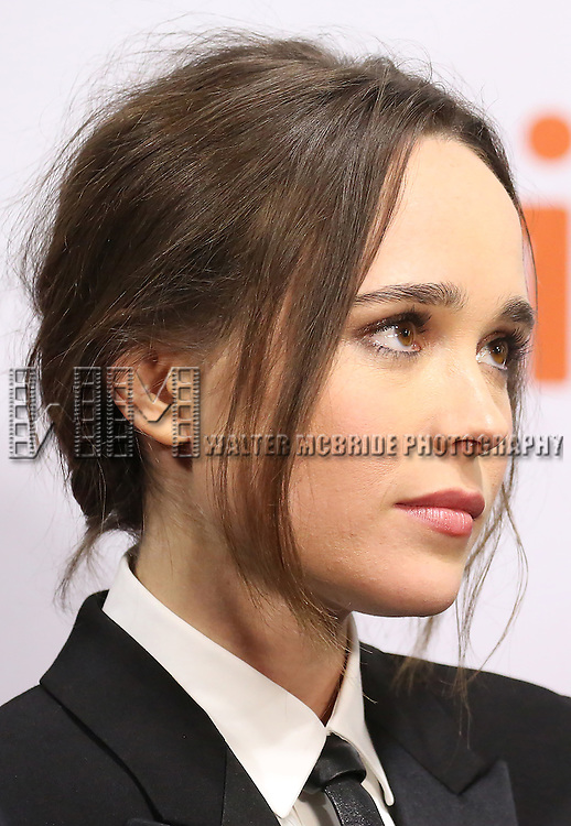 Ellen Page attends the 'Freeheld' premiere during the 2015 Toronto International Film Festival at Roy Thomson Hall on September 13, 2015 in Toronto, Canada.