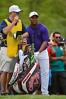 Harold Varner III (USA) looks over his tee shot on 6 during round 4 of the 2019 PGA Championship, Bethpage Black Golf Course, New York, New York,  USA. 5/19/2019.<br /> Picture: Golffile | Ken Murray<br /> <br /> <br /> All photo usage must carry mandatory copyright credit (© Golffile | Ken Murray)