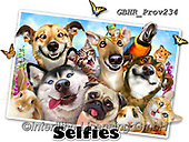 Howard, REALISTIC ANIMALS, REALISTISCHE TIERE, ANIMALES REALISTICOS, selfies, paintings+++++Pet Selfie,GBHRPROV234,#a#, EVERYDAY