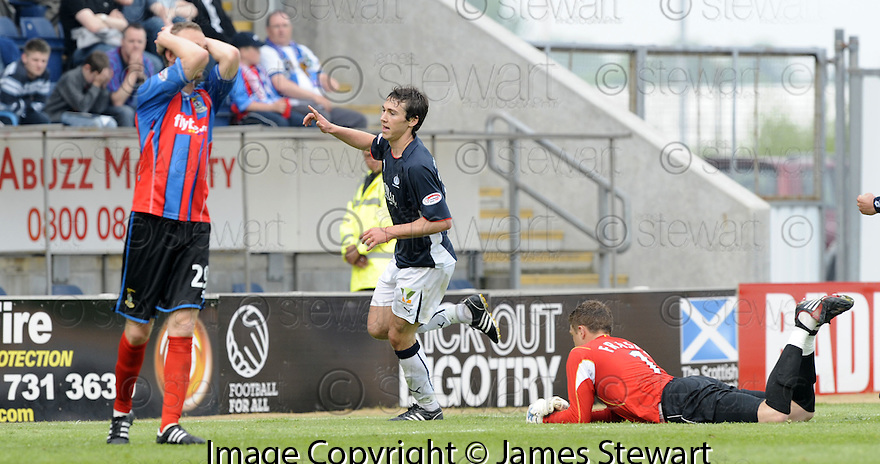 10/05/2008   Copyright Pic: James Stewart.File Name : sct_jspa10_falkirk_v_ict.CARL FINNIGAN CELEBRATES AFTER HE SCORES FALKIRK'S SECOND.James Stewart Photo Agency 19 Carronlea Drive, Falkirk. FK2 8DN      Vat Reg No. 607 6932 25.Studio      : +44 (0)1324 611191 .Mobile      : +44 (0)7721 416997.E-mail  :  jim@jspa.co.uk.If you require further information then contact Jim Stewart on any of the numbers above........