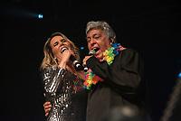 SAO PAULO,SP 15.02.2019 - SHOW-SP -A cantora Katê faz participação especial durante show do cantor Sidney Magal, no Espaço das Américas, zona oeste de São Paulo, na noite desta sexta-feira, 15. (Foto: Bruna Grassi/Brazil Photo Press)