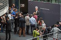 29. Situng des 2. NSU-Untersuchungsausschuss des Deutschen Bundestag am Donnerstag den 8. September 2016.<br /> Im Bild: Clemens Binninger, Vorsitzender des Untersuchungsausschuss bei einem Pressestatement.<br /> 8.9.2016, Berlin<br /> Copyright: Christian-Ditsch.de<br /> [Inhaltsveraendernde Manipulation des Fotos nur nach ausdruecklicher Genehmigung des Fotografen. Vereinbarungen ueber Abtretung von Persoenlichkeitsrechten/Model Release der abgebildeten Person/Personen liegen nicht vor. NO MODEL RELEASE! Nur fuer Redaktionelle Zwecke. Don't publish without copyright Christian-Ditsch.de, Veroeffentlichung nur mit Fotografennennung, sowie gegen Honorar, MwSt. und Beleg. Konto: I N G - D i B a, IBAN DE58500105175400192269, BIC INGDDEFFXXX, Kontakt: post@christian-ditsch.de<br /> Bei der Bearbeitung der Dateiinformationen darf die Urheberkennzeichnung in den EXIF- und  IPTC-Daten nicht entfernt werden, diese sind in digitalen Medien nach §95c UrhG rechtlich geschuetzt. Der Urhebervermerk wird gemaess §13 UrhG verlangt.]