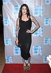 Kat Von D attends the An Evening With Women held at The Beverly Hilton in Beverly Hills, California on May 19,2012                                                                               © 2012 DVS / Hollywood Press Agency