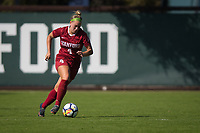 STANFORD, CA - October 21, 2018: Belle Briede at Laird Q. Cagan Stadium. No. 1 Stanford Cardinal defeated No. 15 Colorado Buffaloes 7-0 on Senior Day.