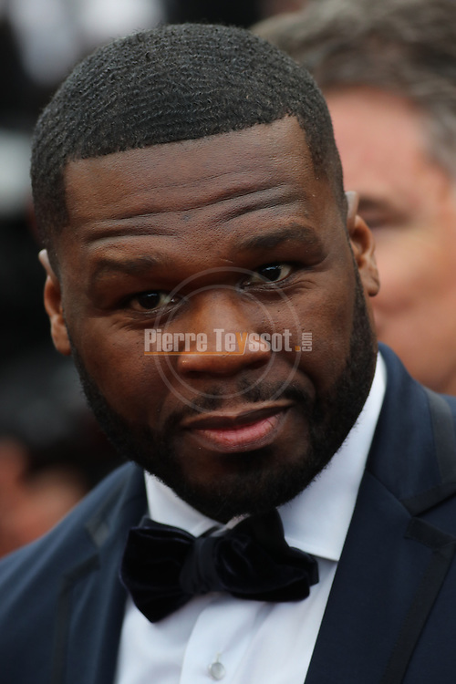 Cannes Film Festival 2018 - 71st edition - Day 8 - May 15 in Cannes, on May 15, 2018; Screening of 'Solo: A star Wars Story;    US rapper 50 Cent. © Pierre Teyssot / Maxppp