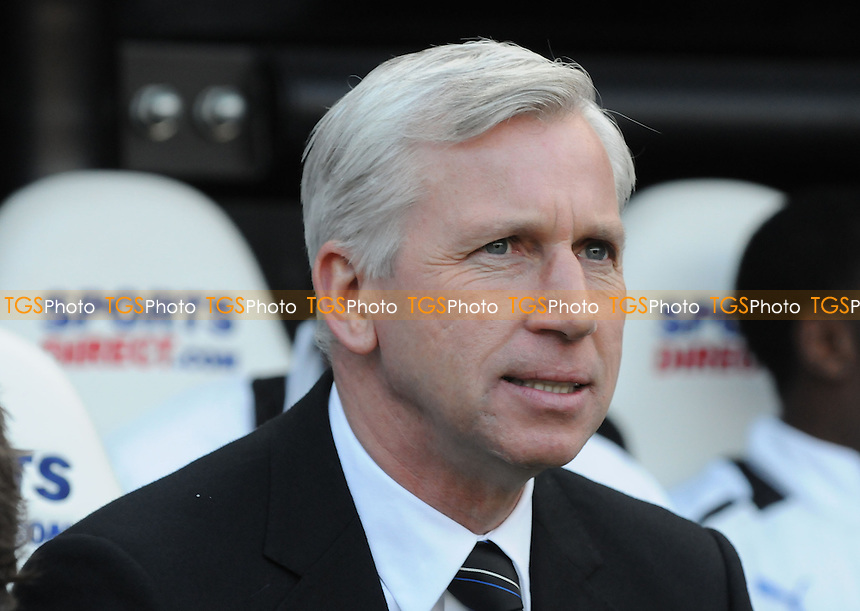 Newcastle United Manager Alan Pardew  - Newcastle United vs Liverpool - Barclays Premier League Football at St James Park, Newcastle upon Tyne - 27/04/13 - MANDATORY CREDIT: Steven White/TGSPHOTO - Self billing applies where appropriate - 0845 094 6026 - contact@tgsphoto.co.uk - NO UNPAID USE