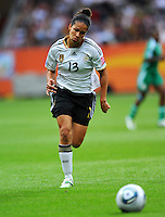 Celia Okoyino da Mbabi of team Germany during the FIFA Women's World Cup at the FIFA Stadium in Frankfurt, Germany on June 30th, 2011.