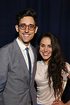 Justin Peck and Patricia Delgado attends the Opening Night After Party for 'Carousel' at the Cipriano 25 on April 12, 2018 in New York City.