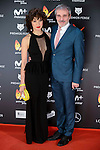 Veronica Sanchez and Fernando Guillen Cuervo attends to the Feroz Awards 2017 in Madrid, Spain. January 23, 2017. (ALTERPHOTOS/BorjaB.Hojas)