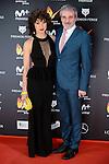 Veronica Sanchez and Fernando Guillen Cuervo attends to the Feroz Awards 2017 in Madrid, Spain. January 23, 2017. (ALTERPHOTOS/BorjaB.Hojas)
