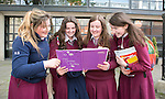 Nichole Shanahan, Aishling Cusack, Lorna O'Brien &amp; Rachel-Maria Moore students from Laurel Hill School pictured after the Leaving Cert Irish Exams<br /> Picture  Credit Brian Gavin Press 22