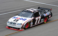 May 1, 2009; Richmond, VA, USA; NASCAR Sprint Cup Series driver Sam Hornish Jr during practice for the Russ Friedman 400 at the Richmond International Raceway. Mandatory Credit: Mark J. Rebilas-