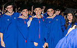 Graduates make their way into the arena Sunday, June 11, 2017, during the DePaul University Driehaus College of Business commencement ceremony at the Allstate Arena in Rosemont, IL. (DePaul University/Jamie Moncrief)