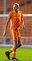 Blackpool's Ewan Bange<br /> <br /> Photographer Alex Dodd/CameraSport<br /> <br /> The FA Youth Cup Third Round - Blackpool U18 v Derby County U18 - Tuesday 4th December 2018 - Bloomfield Road - Blackpool<br />  <br /> World Copyright &copy; 2018 CameraSport. All rights reserved. 43 Linden Ave. Countesthorpe. Leicester. England. LE8 5PG - Tel: +44 (0) 116 277 4147 - admin@camerasport.com - www.camerasport.com