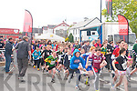 The start of the Jack and Jill fund-raising walk and run in Kenmare last Saturday which over 300 people took part in.