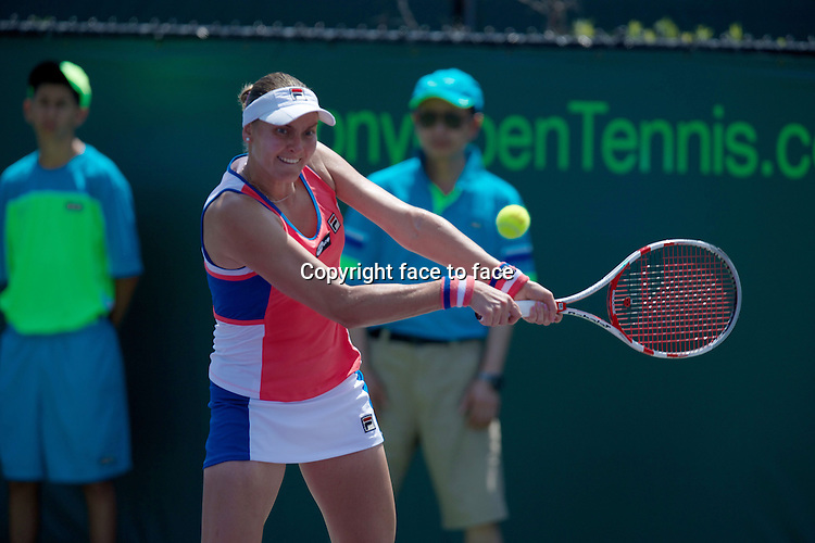 KEY BISCAYNE, FL - MARCH 24: Nadia Petrova (RUS) competes during Day 6 of the Sony OpenTennis in Miami on March 24th, 2013 in Key Biscayne, FL..Credit: MediaPunch/face to face..- Germany, Austria, Switzerland, Eastern Europe, Australia, UK, USA, Taiwan, Singapore, China, Malaysia and Thailand rights only -