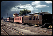 6 passenger cars and caboose - #301, #311. Dual trackage.<br /> D&amp;RGW