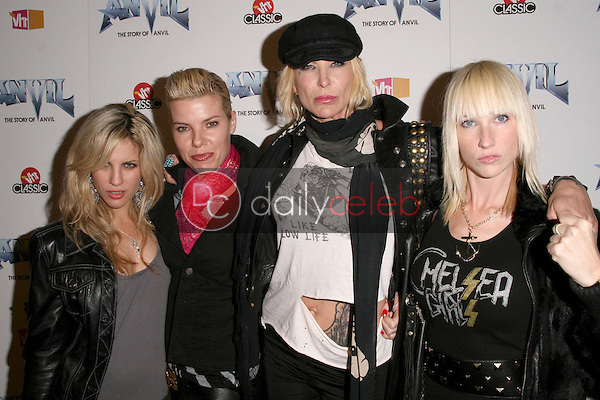 Chelsea Girls<br />at the Los Angeles Premiere of 'Anvil! The Story of Anvil'. The Egyptian Theatre, Hollywood, CA. 04-07-09<br />Dave Edwards/DailyCeleb.com 818-249-4998