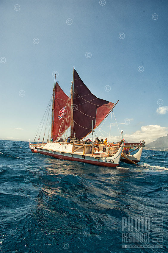 "Hawaiian voyaging canoe Hokule'a near Cape Town, South Africa, Thursday, November 12, 2015. Hokule'a was on a ""Malama Honua"" (Care for the Earth) worldwide voyage to raise awareness about the importance of protecting the world's oceans, considered the greatest environmental challenge of our time."