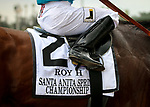 ARCADIA, CA: October 06: #2 Roy H runaways with Paco Lopez in the Breeders Cup win and you're Santa Anita Sprint Championship at Santa Anita Park on October 06, 2018 in Arcadia, California (Photo by Chris Crestik/Eclipse Sportswire)