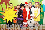 Pictured at the Balloonagh School Christmas Concert on Wednesday 12th December were l-r: Cameron O'Brien, Layla Halloran, Farah Leahy, Stephen Leahy, Justin McCarthy and Hazel O'Donoghue.