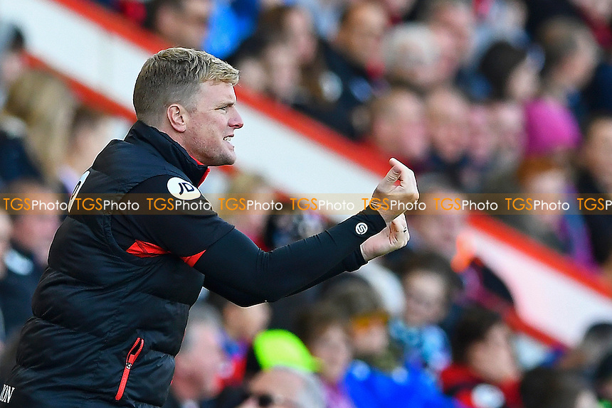 AFC Bournemouth Manager Eddie Howe during AFC Bournemouth vs Tottenham Hotspur, Premier League Football at the Vitality Stadium on 22nd October 2016