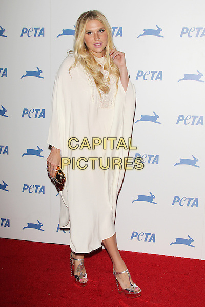 LOS ANGELES, CA - SEPTEMBER 30: Kesha at PETA's 35th Anniversary Party at Hollywood Palladium on September 30, 2015 in Los Angeles, California. <br /> CAP/MPI22<br /> &copy;MPI22/Capital Pictures