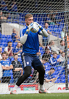 Tomas Holy of Ipswich Town warming up pre match during Ipswich Town vs Sunderland AFC, Sky Bet EFL League 1 Football at Portman Road on 10th August 2019
